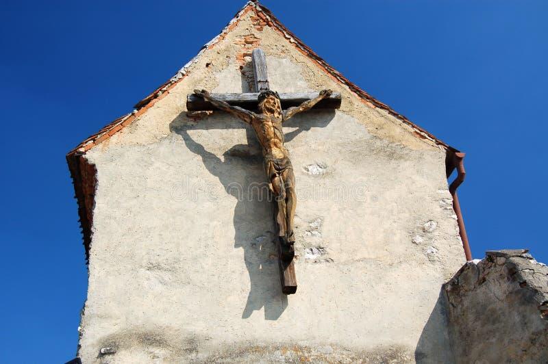 Vieille croix photographie stock libre de droits