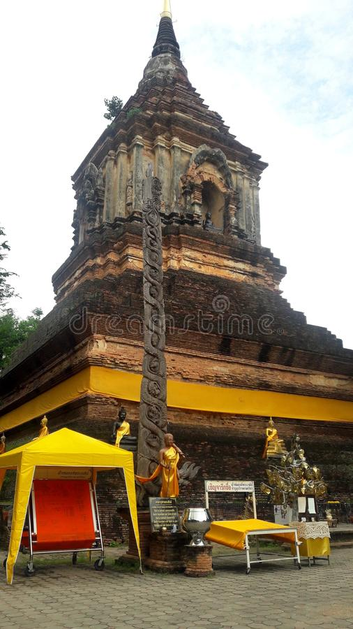 Vieille culture, vieux temple photos libres de droits