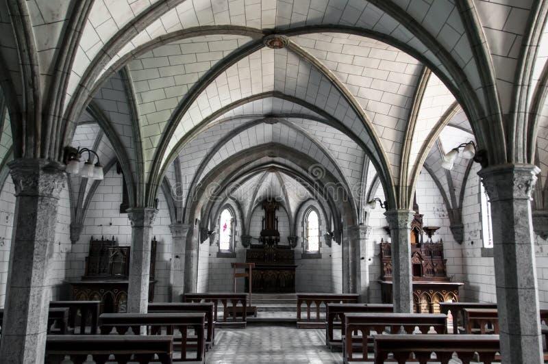 Vieille et abandonnée chapelle photos libres de droits