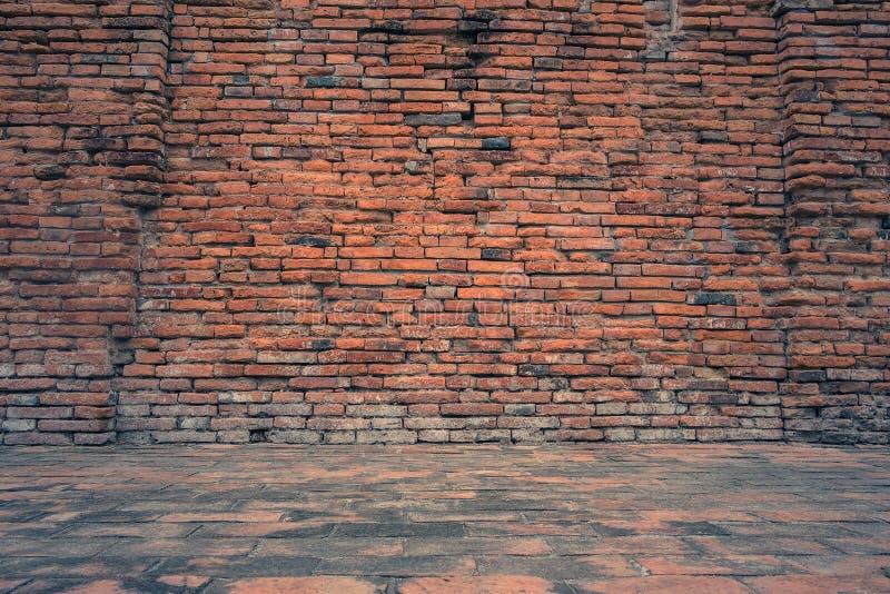 Vieille et grunge texture de fond de brique rouge, photo libre de droits