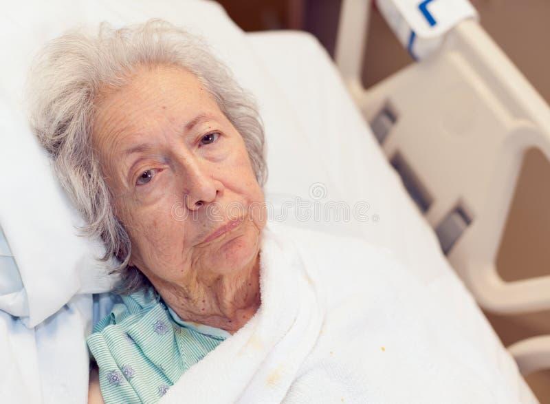Vieille femme aînée photo libre de droits