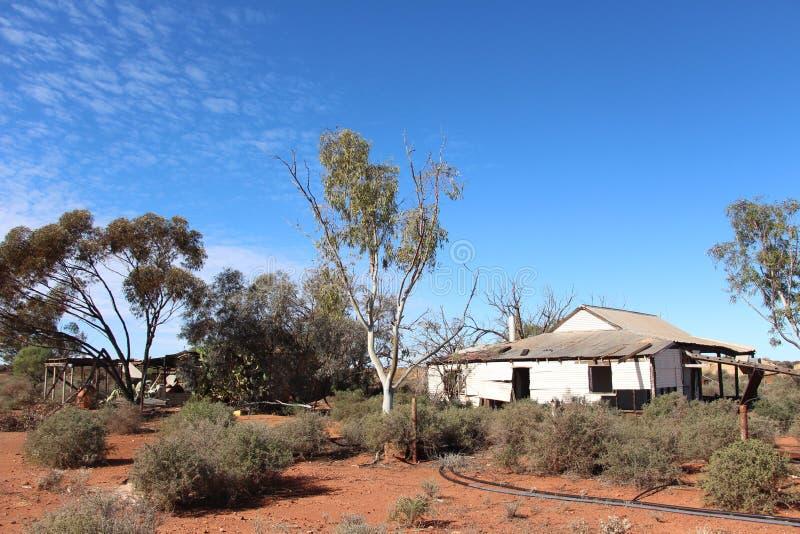 Vieille ferme dans à l'ouest l'Australien à l'intérieur photo stock