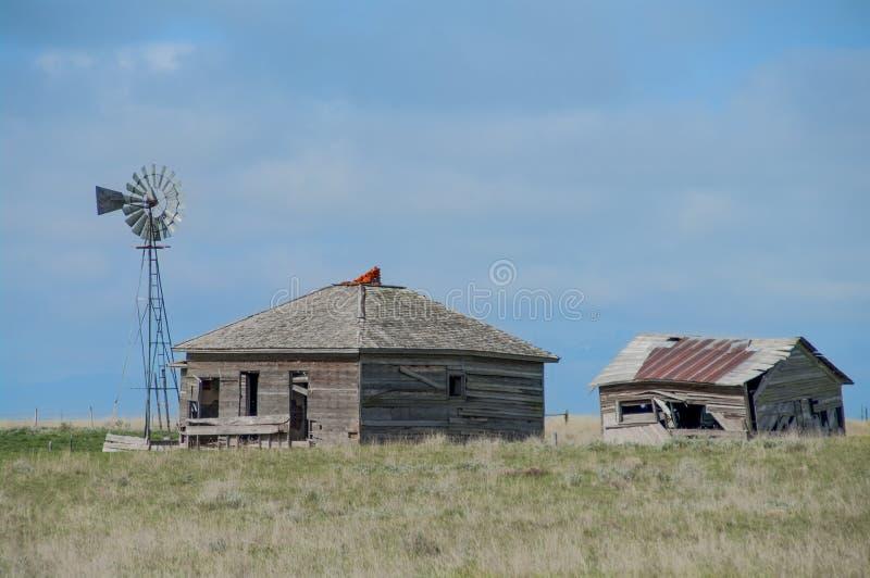 Vieille ferme du Wyoming photos stock