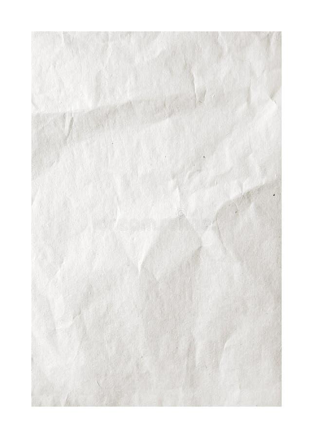 Vieille feuille de papier modifiée la tonalité grise image stock