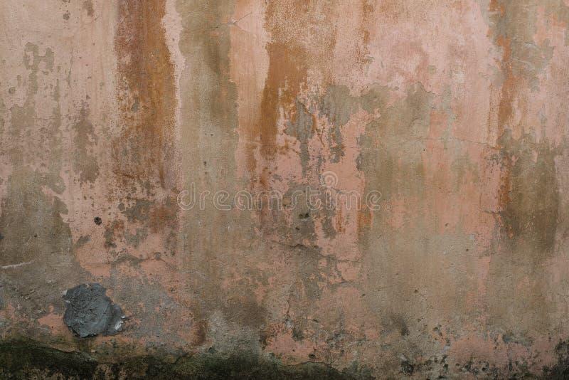 Vieille fin antique de texture de mur  Configurations urbaines image libre de droits