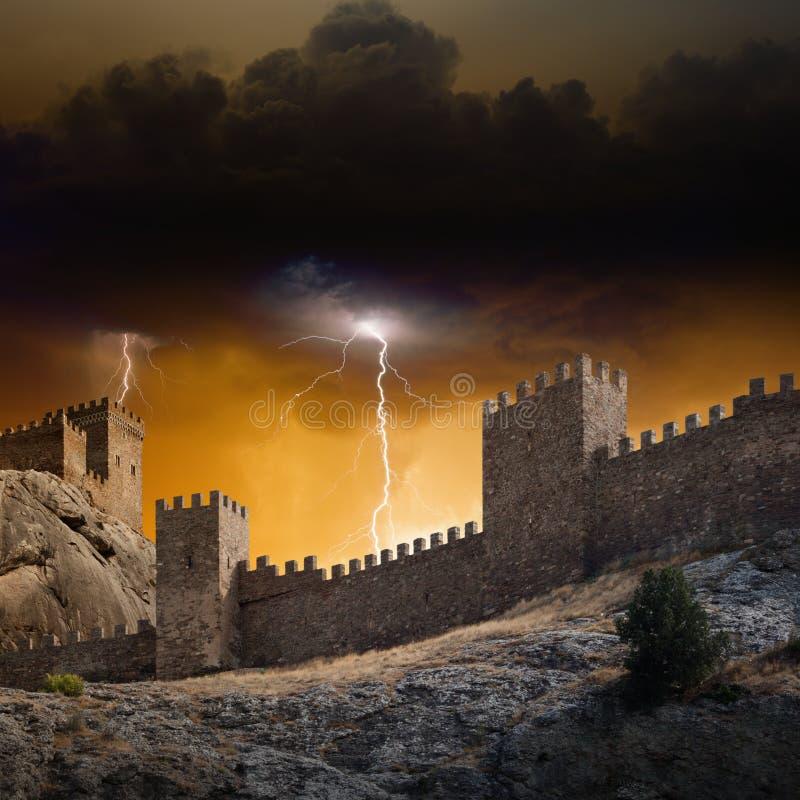 Vieille forteresse photo stock