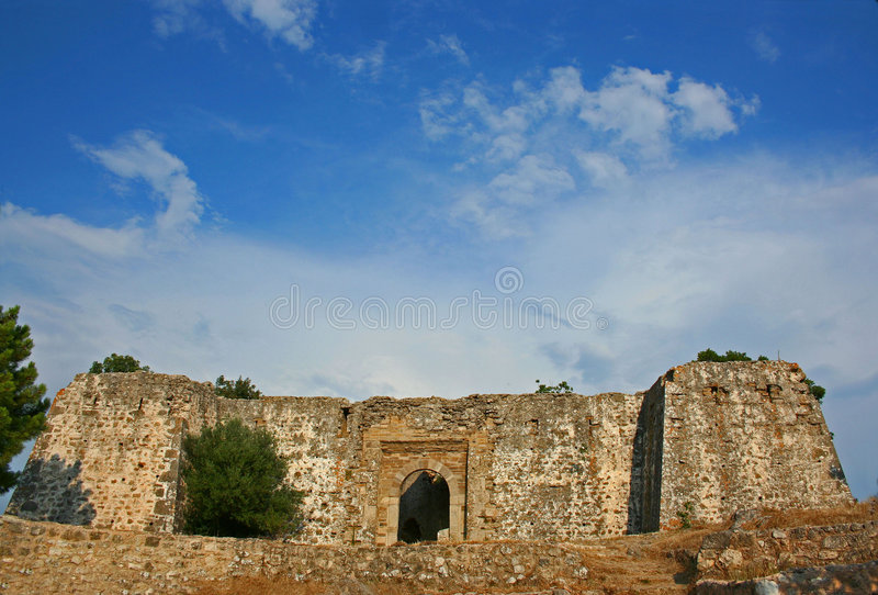 Vieille forteresse d'ali-pasha photo libre de droits
