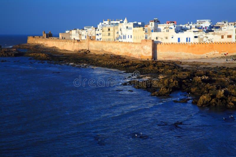 Vieille forteresse d'Essaouira photographie stock libre de droits