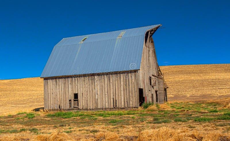 Vieille grange abandonnée, Palouse, Washington images libres de droits