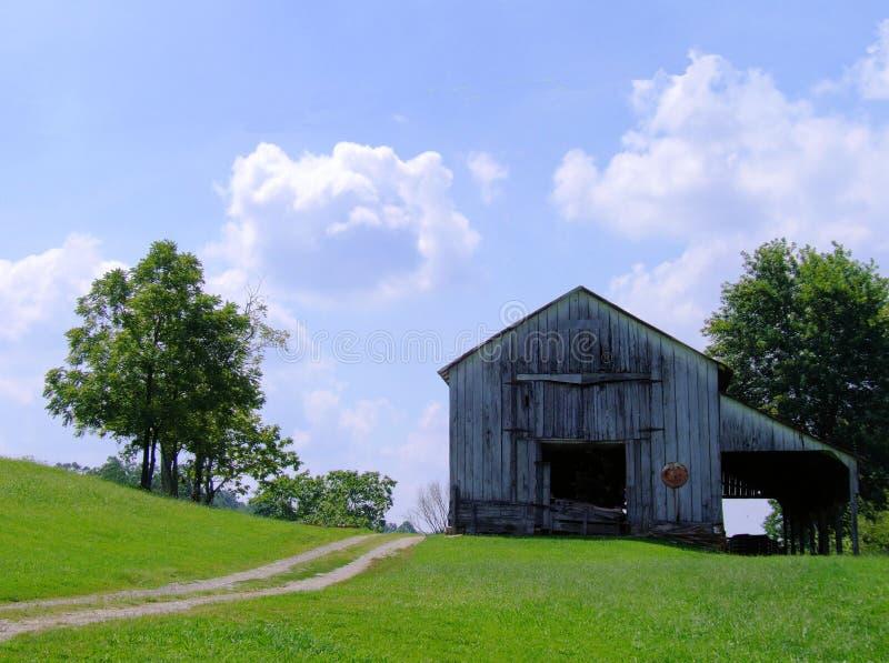 Vieille grange au Kentucky photographie stock libre de droits