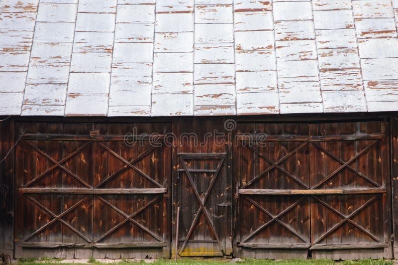 Vieille grange en Pologne photos libres de droits