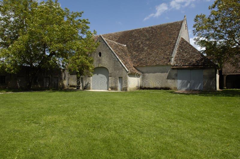 Vieille grange française photo libre de droits