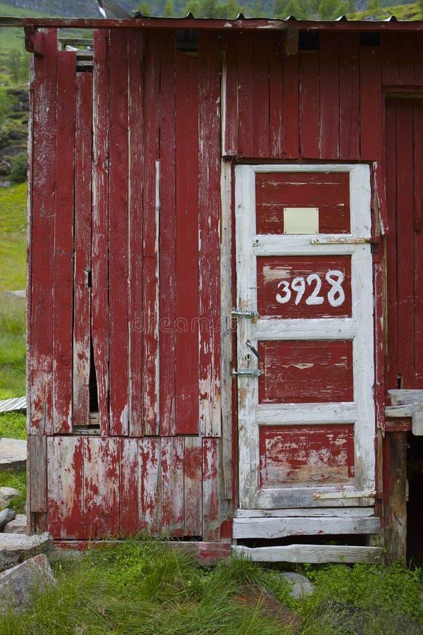 Vieille grange norvégienne image libre de droits