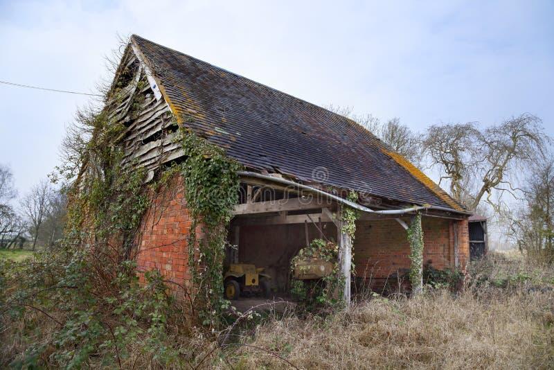 Vieille grange, Worcestershire, Angleterre image libre de droits