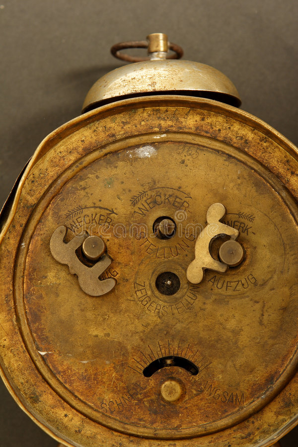 Vieille horloge photographie stock
