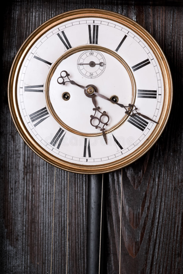 Vieille horloge. images stock