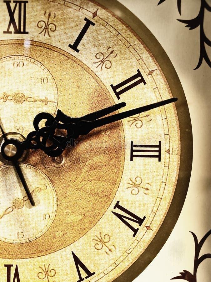 Vieille horloge image libre de droits