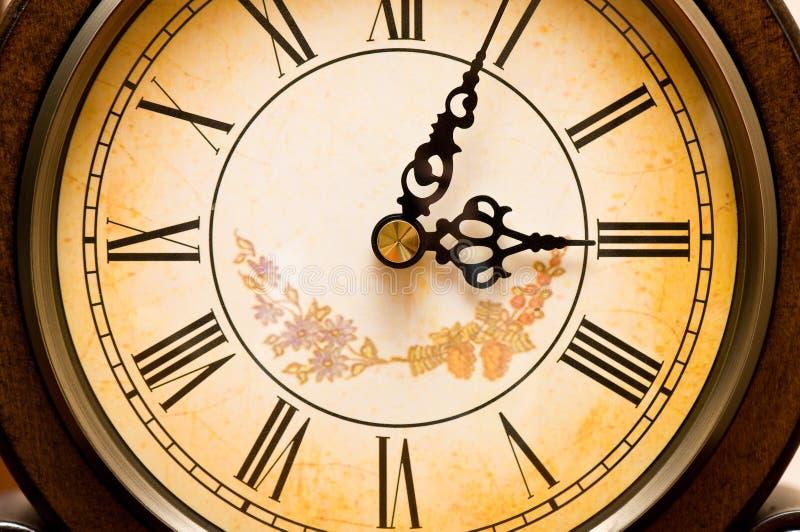 Vieille horloge antique images libres de droits