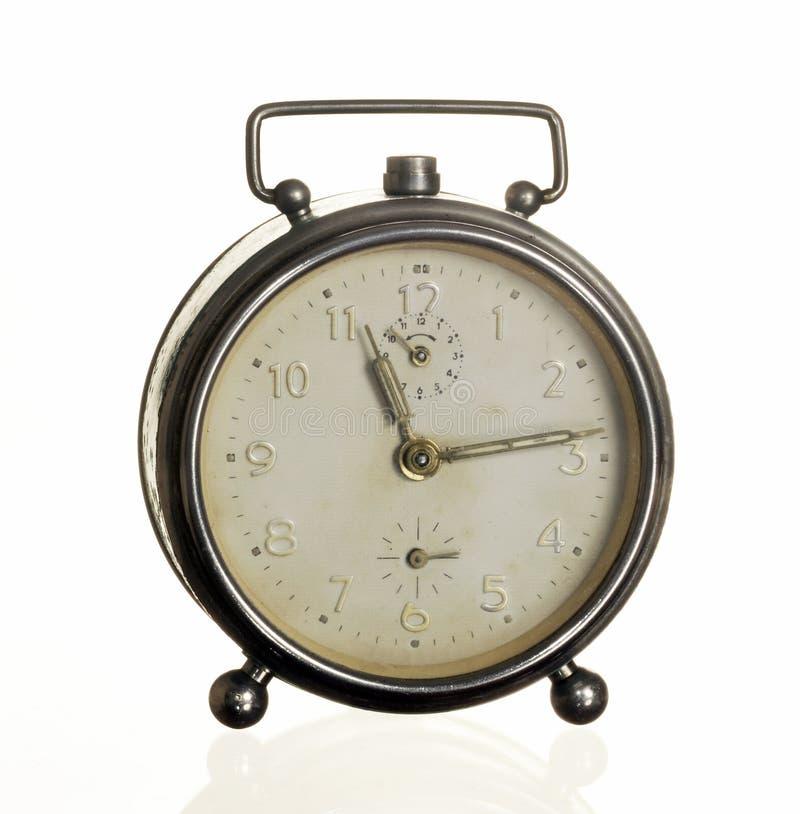 Download Vieille horloge d'alarme image stock. Image du fond, second - 45355651