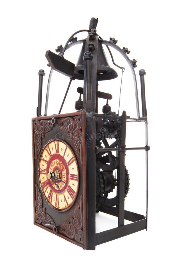 Vieille horloge d'antiquité de cru photographie stock libre de droits