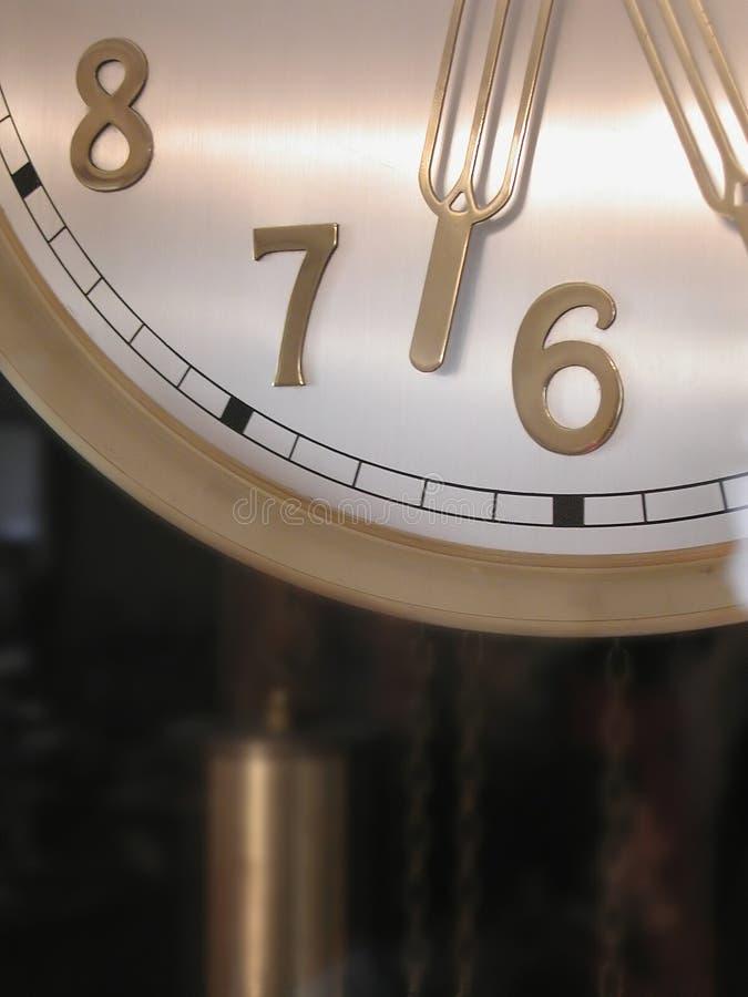 Vieille horloge de mur photographie stock