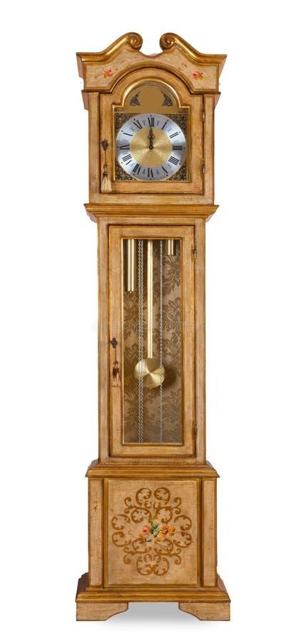 Vieille horloge première génération photographie stock libre de droits