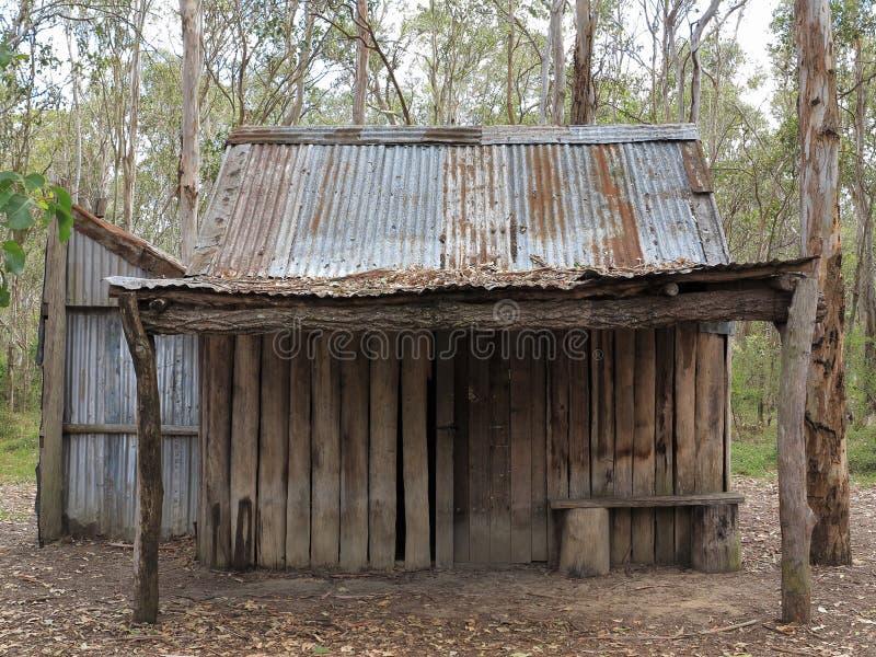 Vieille hutte désolée photos libres de droits