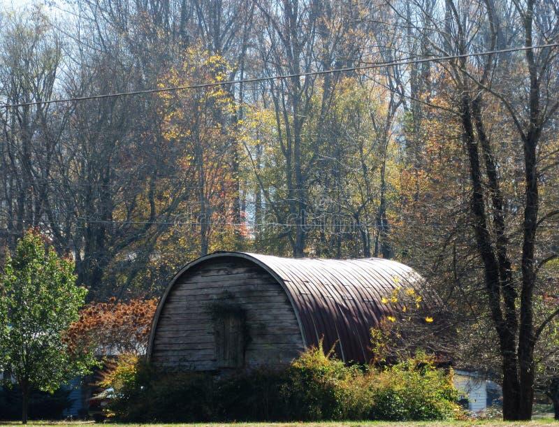 Vieille hutte de quonset en Maggie Valley, OR photos libres de droits