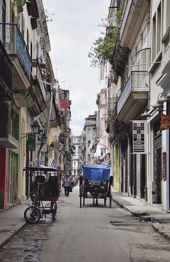 Vieille La Havane, Cuba photos libres de droits