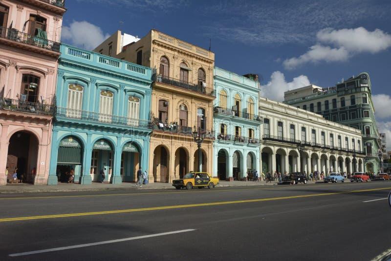VIEILLE LA HAVANE SCÈNE DE RUE DU CUBA photos libres de droits