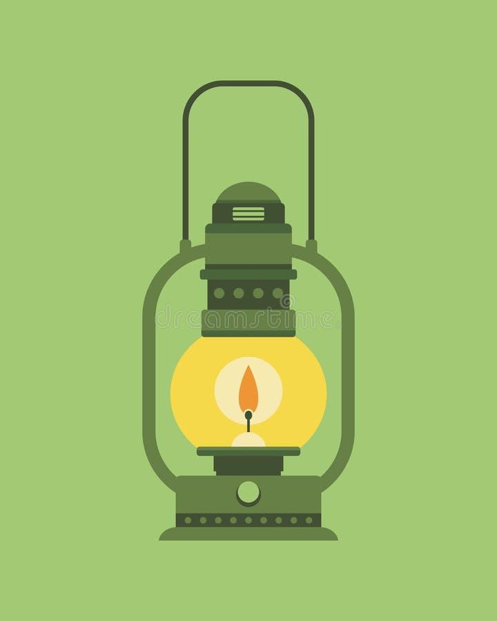 Vieille lampe photo libre de droits