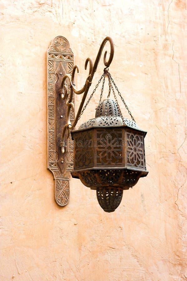 Vieille lampe arabe classique images libres de droits