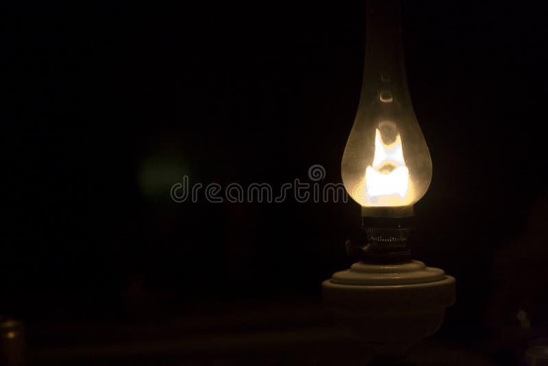 Vieille lampe de gaz photographie stock libre de droits