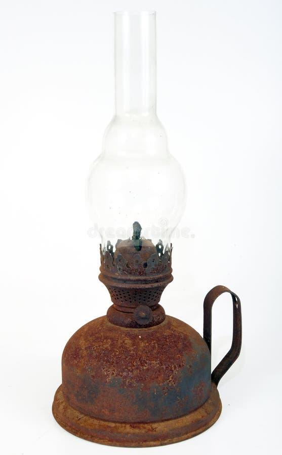 Vieille lampe de kérosène image libre de droits