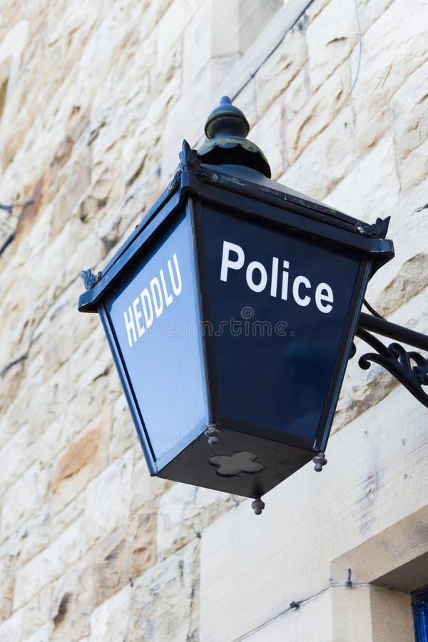 Vieille lanterne de police photos stock