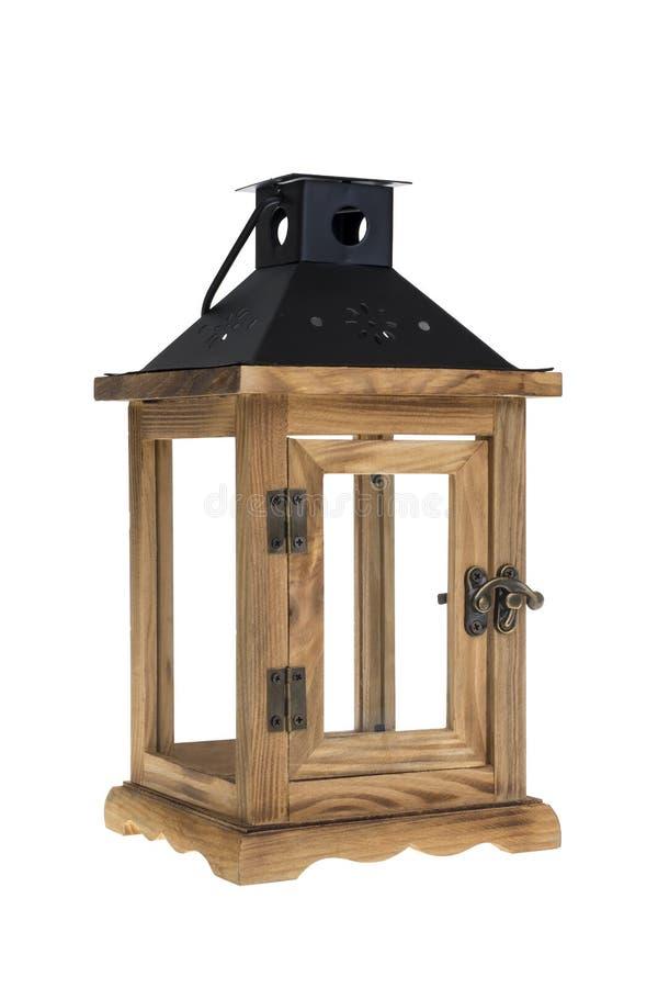 vieille lanterne en bois avec le chemin photo stock image du lanterne br lure 85801876. Black Bedroom Furniture Sets. Home Design Ideas