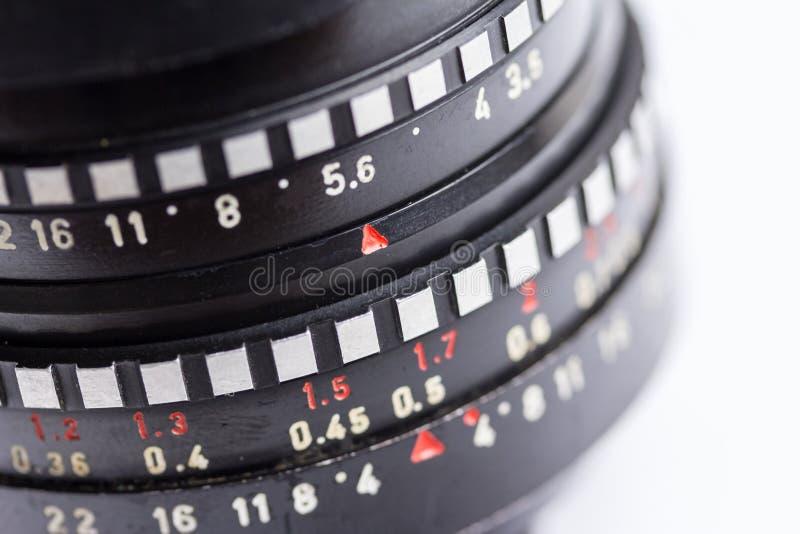 Vieille lentille m42 images stock