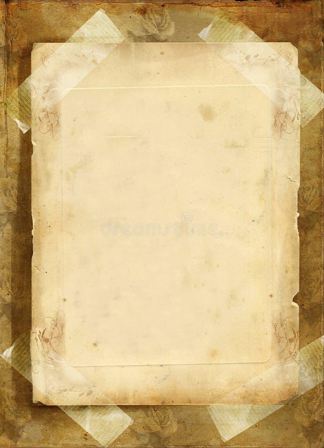 Vieille lettre photographie stock libre de droits