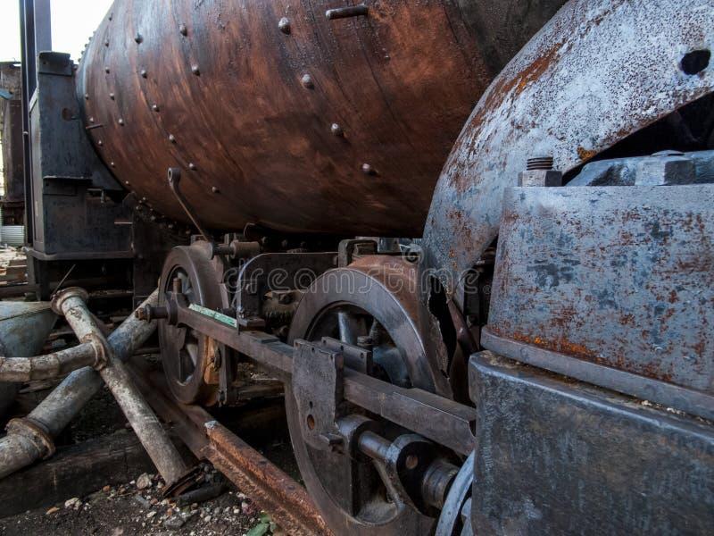 Vieille locomotive de La Havane photo libre de droits