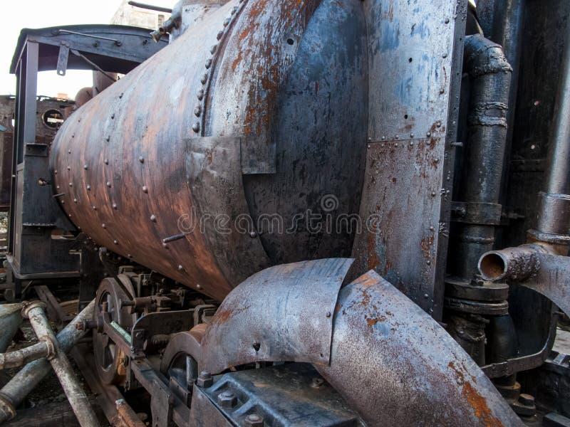 Vieille locomotive de La Havane photos stock