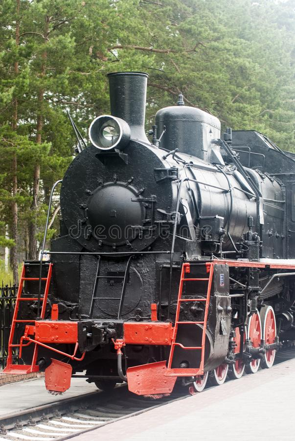 Vieille locomotive ? vapeur photos stock