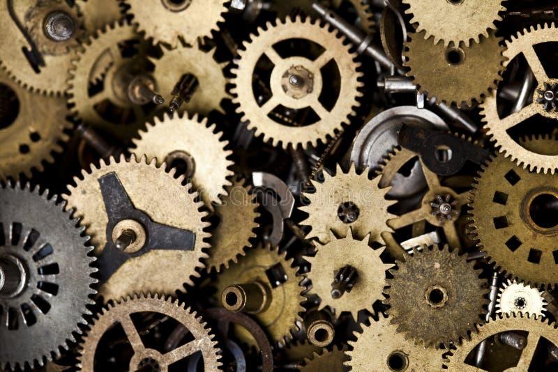 Vieille machine d'horloge images libres de droits