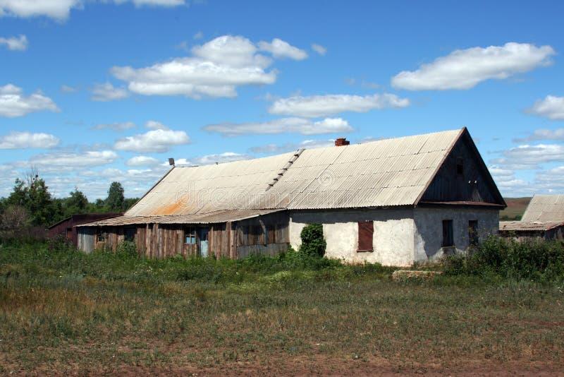 Vieille maison de ferme photographie stock