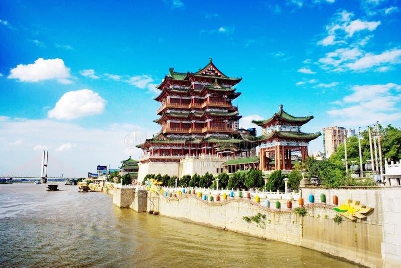 Vieille maison de la Chine images libres de droits