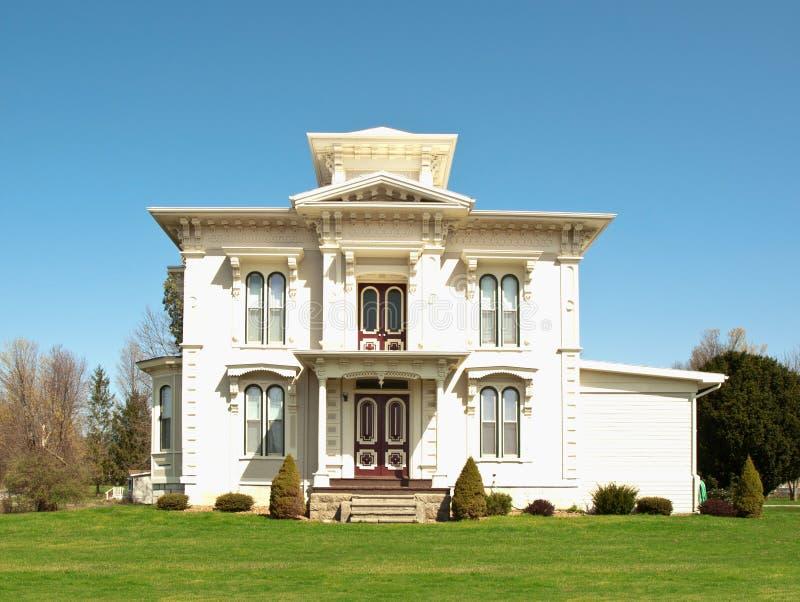 Vieille maison de victorian photographie stock