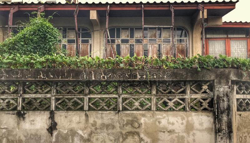 Vieille maison en bois photographie stock