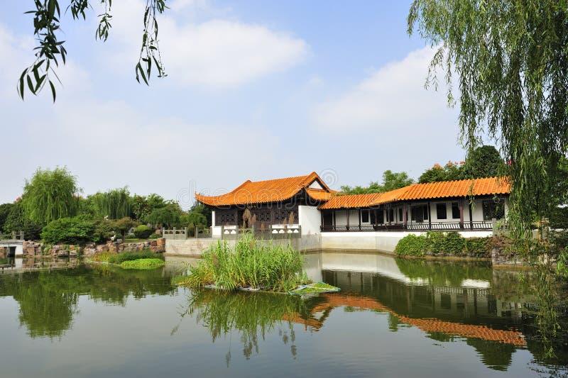 Vieille maison en Chine photo libre de droits