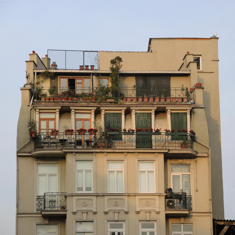 Vieille maison, Istanbul, Turquie image stock
