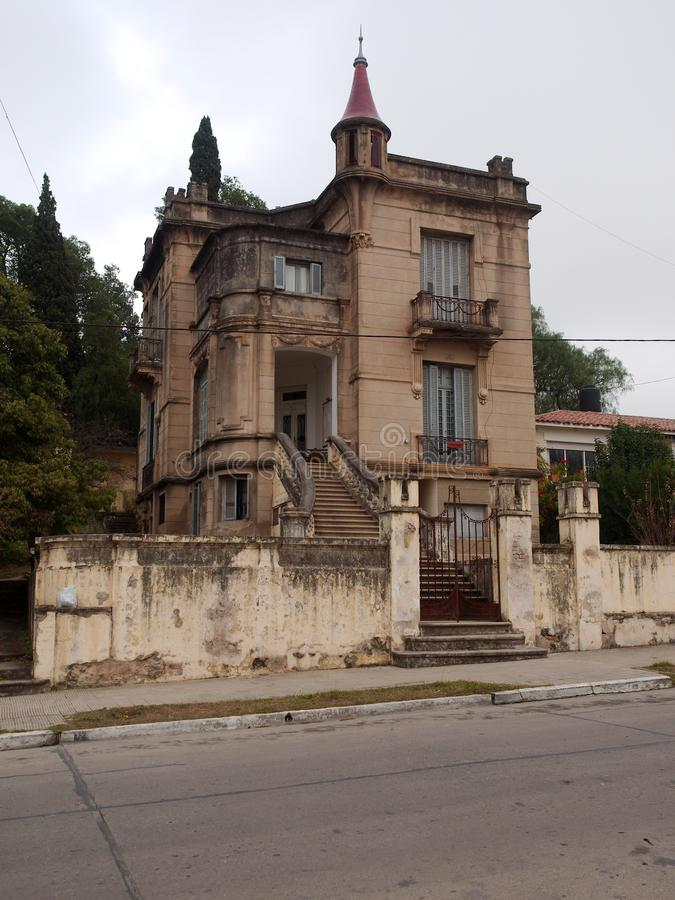 Vieille maison traditionnelle à Alta Gracia, Cordoue image stock