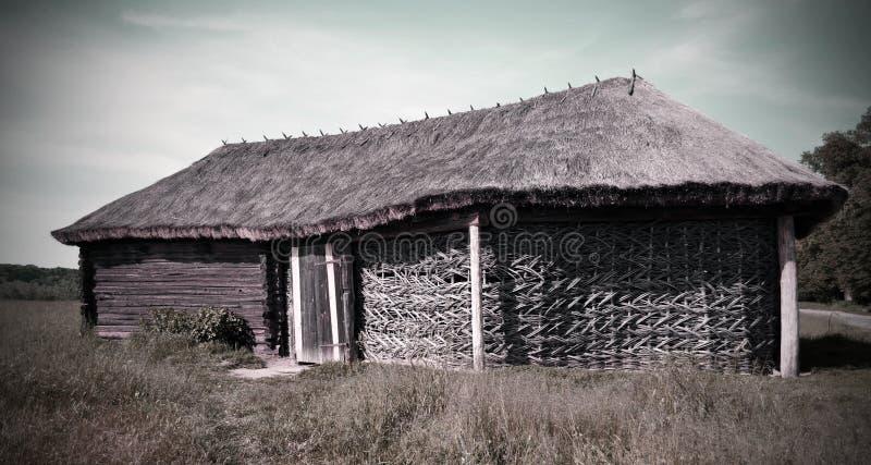 Vieille maison ukrainienne nationale photos libres de droits